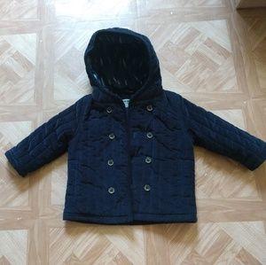 18 month Winter coat navy